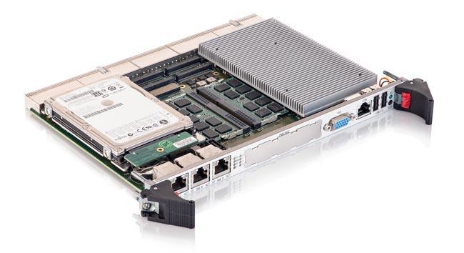Tarjeta CompactPCI 6U con Intel Core de cuarta generación