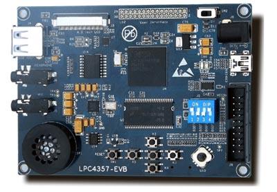 Plataforma de desarrollo con Cortex-M4 y M0