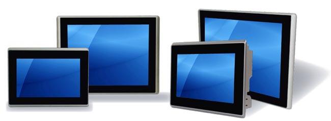 Panel PC con pantalla táctil y chasis de aluminio fundido