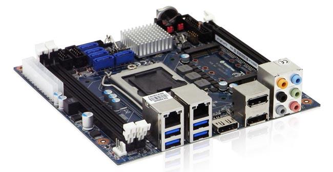 Placa madre Mini-ITX con cuarta generación