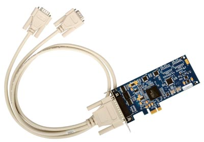 Tarjetas adaptadoras PCI Express Serial