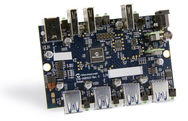 Controlador USB3 con memoria programable