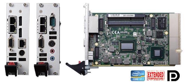 Tarjetas CPU cPCI industriales