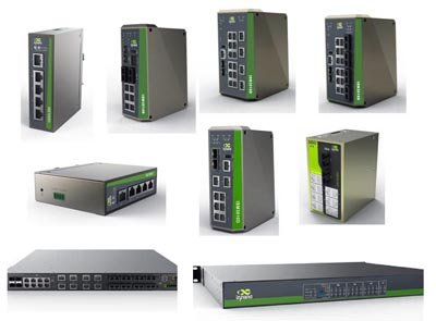 Equipos para Ethernet industrial