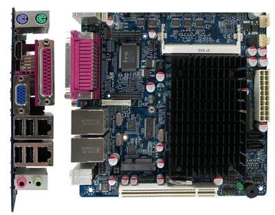 Placa Mini ITX sin ventilador