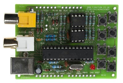 Placa para diseño de 8 bit