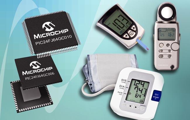 Microcontrolador PIC con convertidores