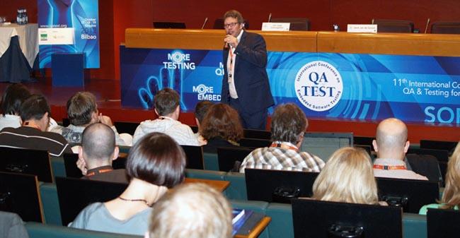 QA&TEST, XII conferencias sobre el software embebido