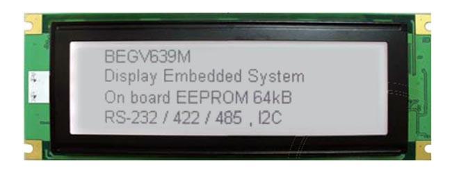 Display LCD STN con microcontrolador
