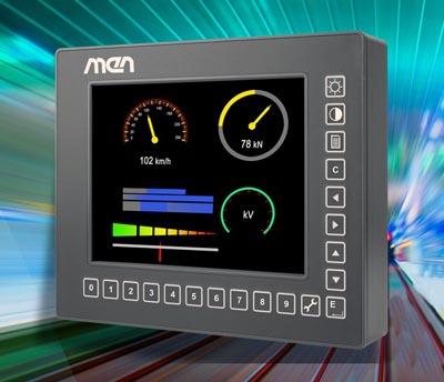 Panel PC compacto para entornos ferroviarios