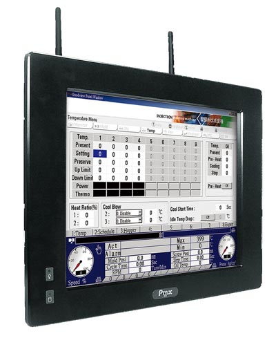 PCs panelables con pantalla táctil