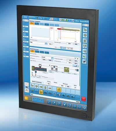 "Panel PC de 19"" con CPU Intel Atom"
