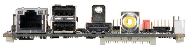 Pico-ITX basada en ARM embebido de cuatro núcleos
