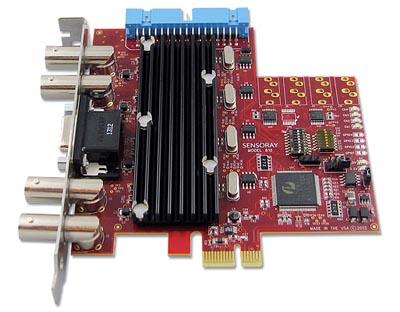 Frame grabber PCI Express de cuatro canales