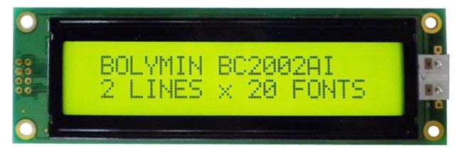 Módulos mLCM con RS232, SPI e I2C