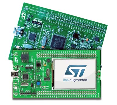 Kit de desarrollo para STM32F4