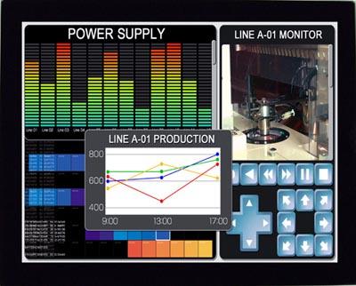 Módulos TFT-LCD a color