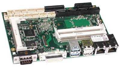 """SBC de 3.5"""" con procesador Intel Core Quad"""