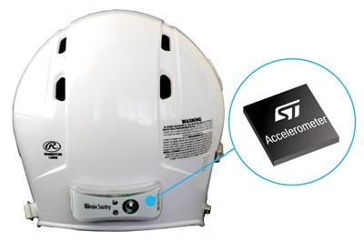 Acelerómetro MEMS para sensor de impacto