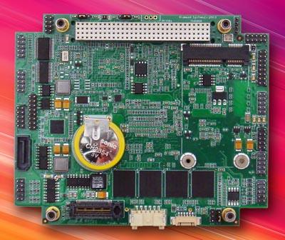 Tarjeta PCI-104 Express robusta