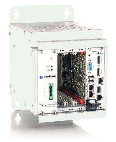 CompactPCI 3U con procesador Intel Celeron