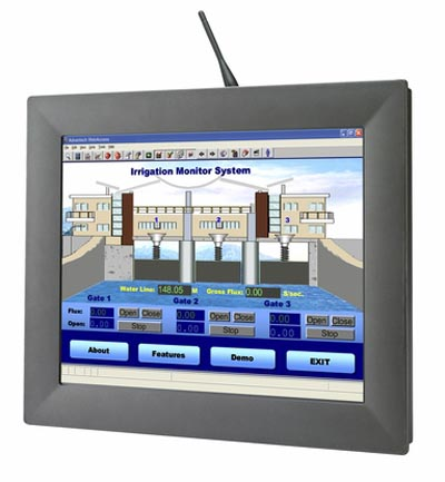 "Touch Panel PC 17"" fanless"