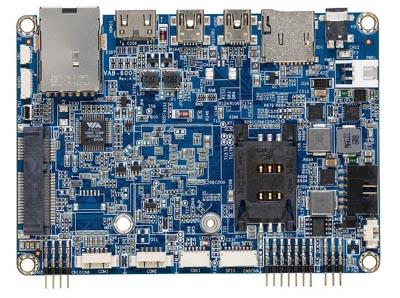 Tarjeta de desarrollo VIA VAB-600