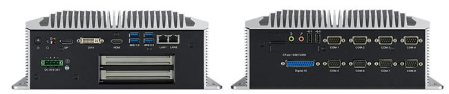 Box PCs embebidos sin ventilador