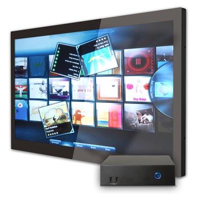 Digital Mosaic de pantalla delgada