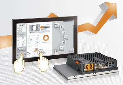 Panel PC multitáctil