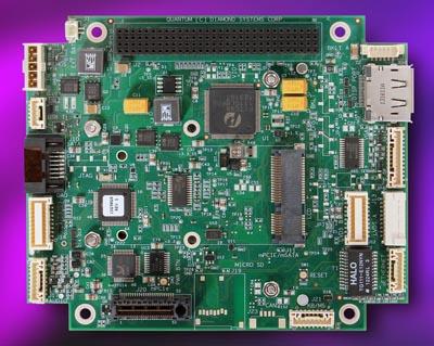Tarjeta PCI-Express robusta con módulos Qseven