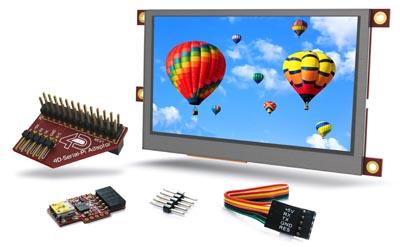 kits de inicio con pantalla táctil