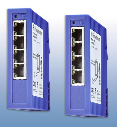Switches para redes Ethernet industriales