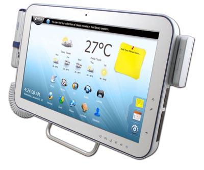 Panel PC médico con pantalla táctil