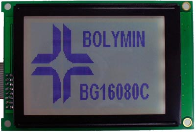 Módulo LCD con marco metálico