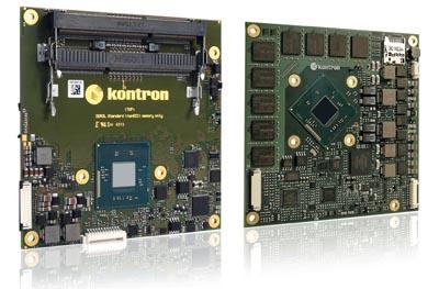 COM Express con Atom o Celeron