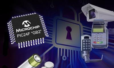 Microcontroladores con criptografía integrada