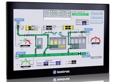 Monitores multi-toque industriales