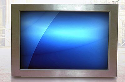 "Monitor industrial de 55"" para montaje en pared"