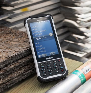 Handheld resistente al polvo y al agua