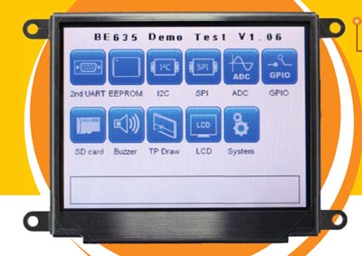 """Display TFT-LCD de 3.5"""""""