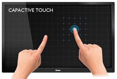 Tecnología PCAP para pantallas multitáctiles