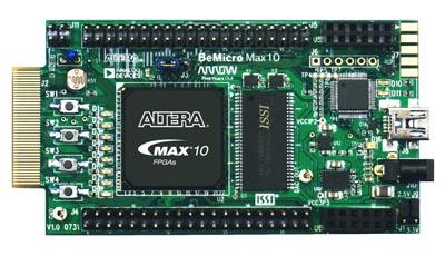 Placa de evaluación para FPGAs no volátiles
