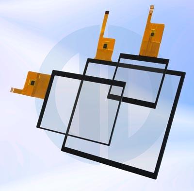 Displays táctiles con interface I²C