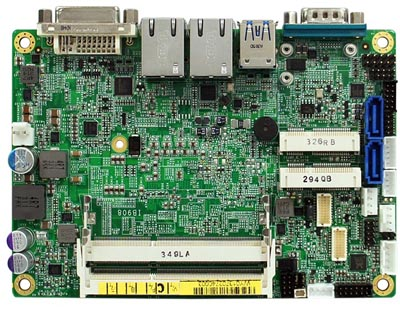 """SBC de 3.5"""" con procesador Haswell"""