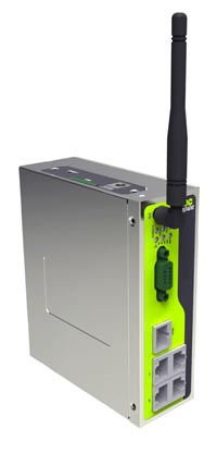 Router 3G para redes industriales