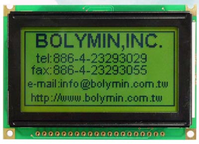 Módulo LCD gráfico de alta resolución