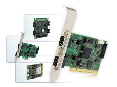 Interfaces CAN PCI