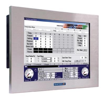PC panelables con pantalla táctil