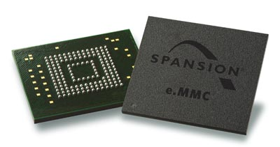 Memoria e.MMC de tipo industrial